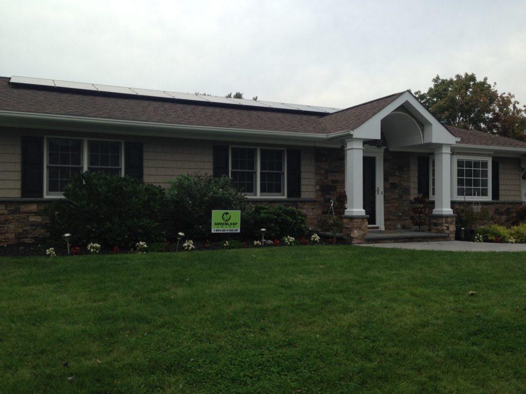 Smithtown, NY Solar Install 15.4 Kw