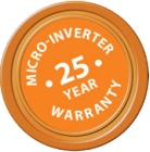 25 Year Residential Micro-Inverter Warranty - GreenLeaf Solar