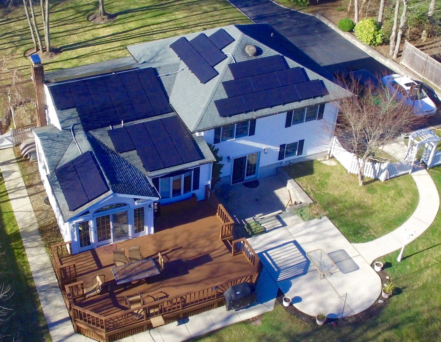 Sayville, NY Solar Install 11.55 Kw