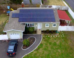 Solar Panel Installation on house in Massapequa NY