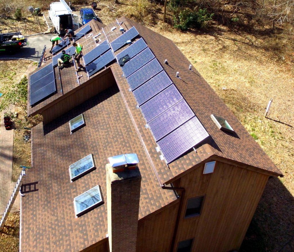 Setauket, NY Solar Install 6.875 Kw