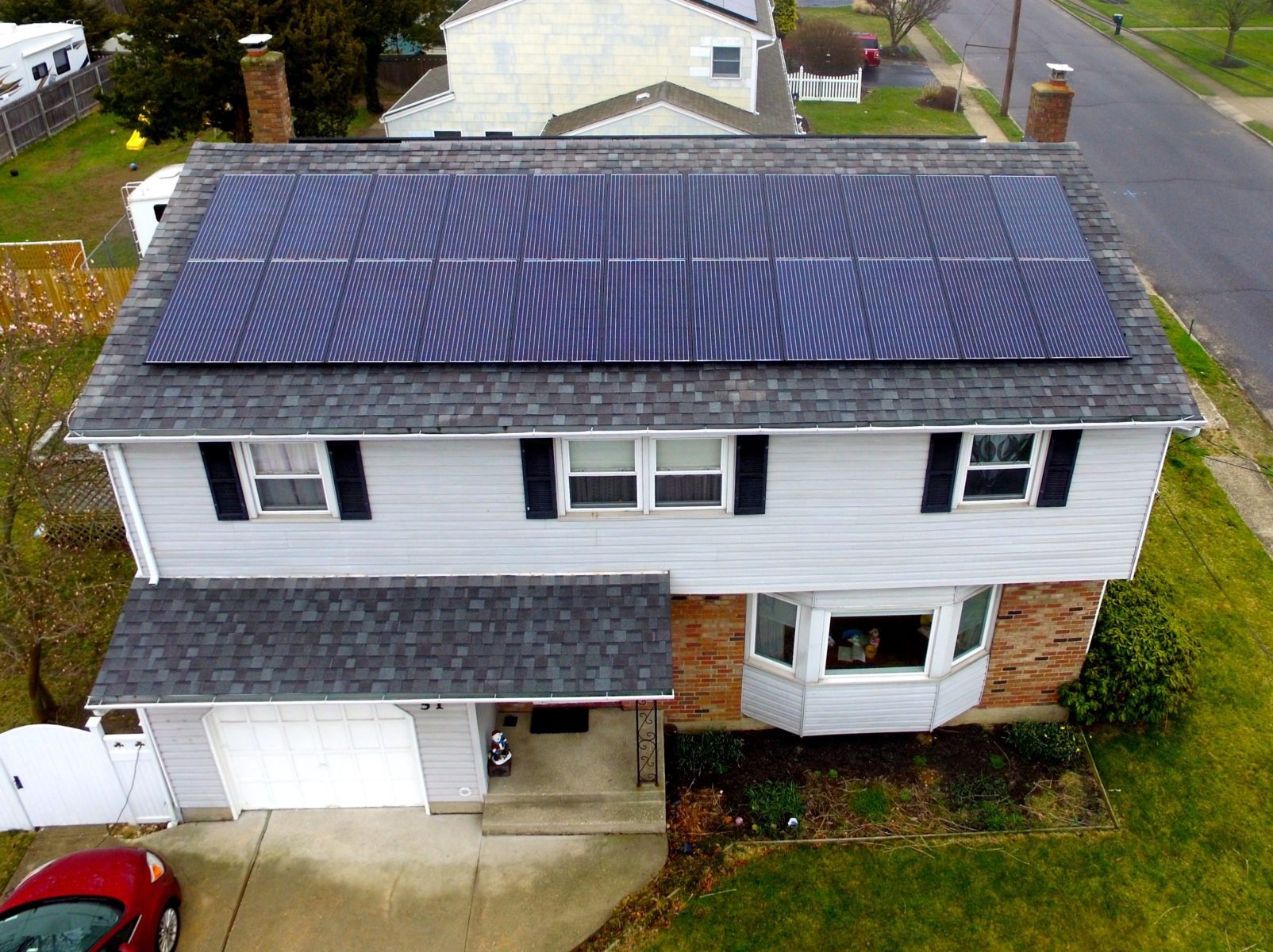 Sayville, New York Solar Install 11.00Kw