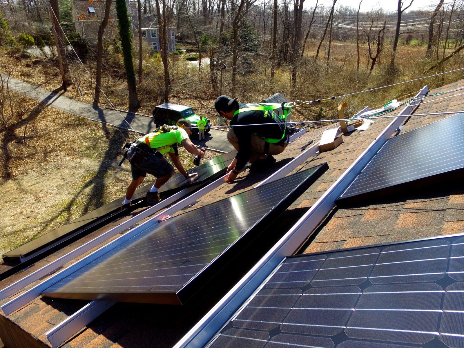 Solar Panel Installation in Manhasset by GreenLeaf Solar