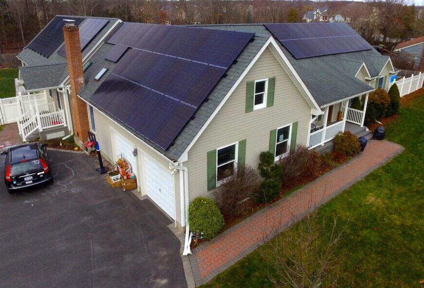 Wading River, NY Solar Install 14.85 Kw