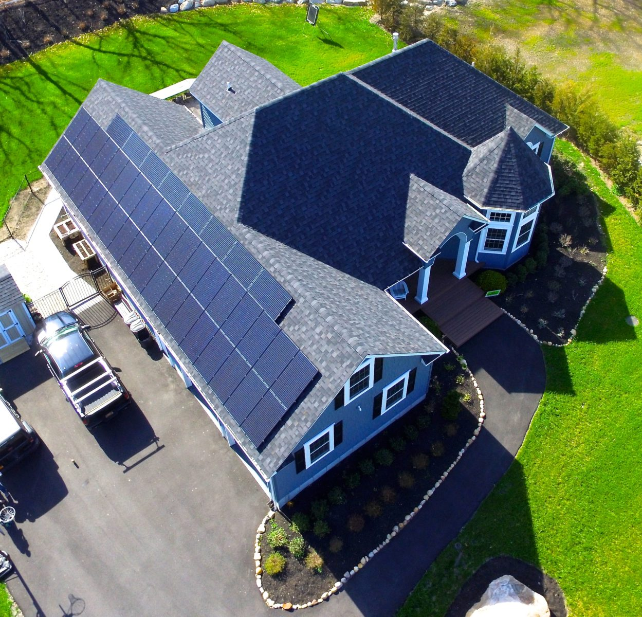 Wading River, New York Solar Install 12.1Kw