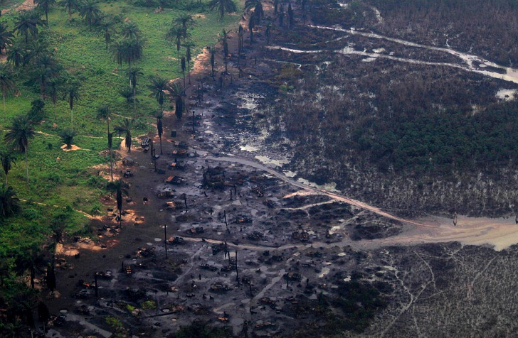 Shell Oil Spill in Niger Delta