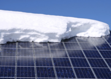 Impact of Long Islands Winter on Solar Panels