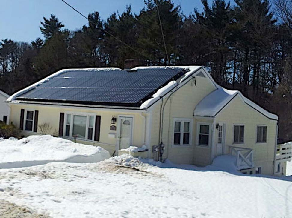 Solar Panels in NY Winter