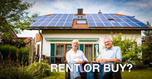 Renting vs Buying Solar Panels